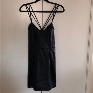 Kendall + Kylie Black Mini Dress
